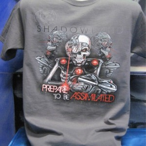 prepare to be assimilated shirt