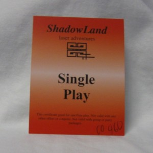 single play gift certificate
