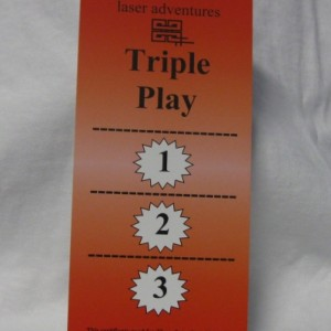 triple play gift certificate